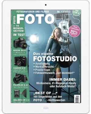 FOTO HITS Magazin 12/2013 E-Paper