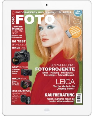 FOTO HITS Magazin 9/2014 E-Paper