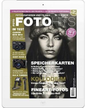 FOTO HITS Magazin 1-2/2016 E-Paper