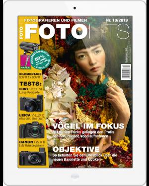 FOTO HITS Magazin 10/2019 E-Paper