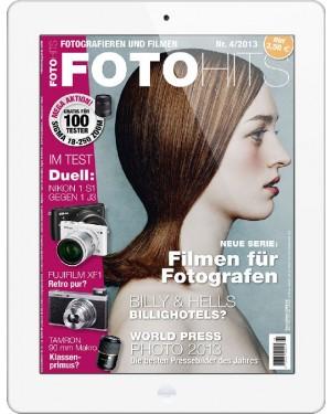 FOTO HITS Magazin 4/2013 E-Paper