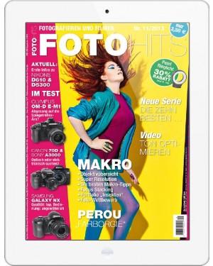 FOTO HITS Magazin 11/2013 E-Paper