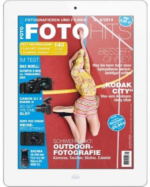 FOTO HITS Magazin 6/2014 E-Paper