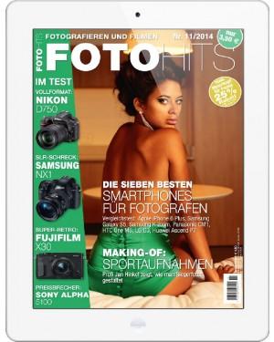 FOTO HITS Magazin 11/2014 E-Paper
