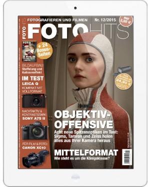FOTO HITS Magazin 12/2015 E-Paper