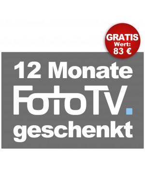 FOTO HITS Ein-Jahres PREMIUM ABO + FotoTV Jahresabonnement