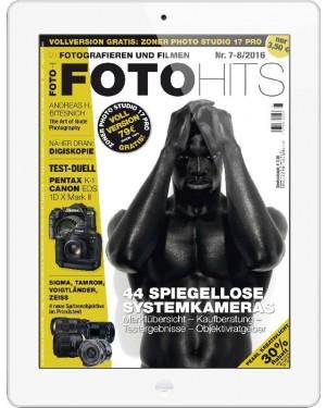 FOTO HITS Magazin 7-8/2016 E-Paper