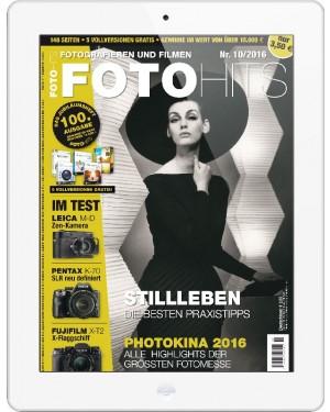 FOTO HITS Magazin 10/2016 E-Paper