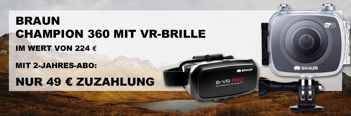 Braun 360-Grad-Kamera