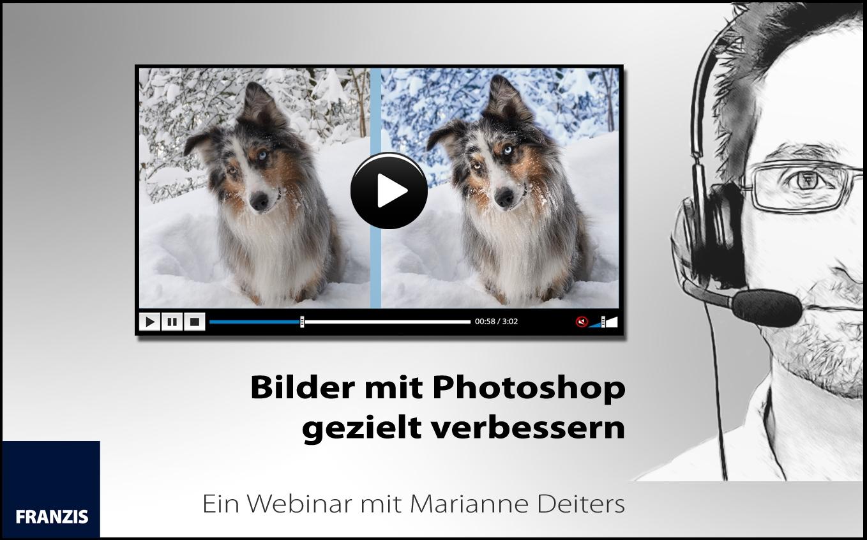 """Webinarvideo: """"Bilder mit Photoshop gezielt verbessern"""""""